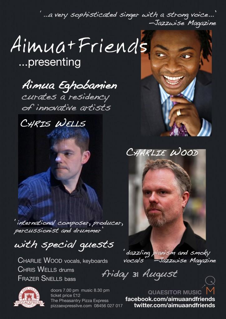 Aimua + Friends 31 August