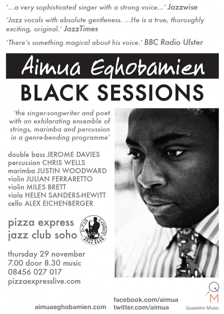 Black Sessions Pizza Express Soho