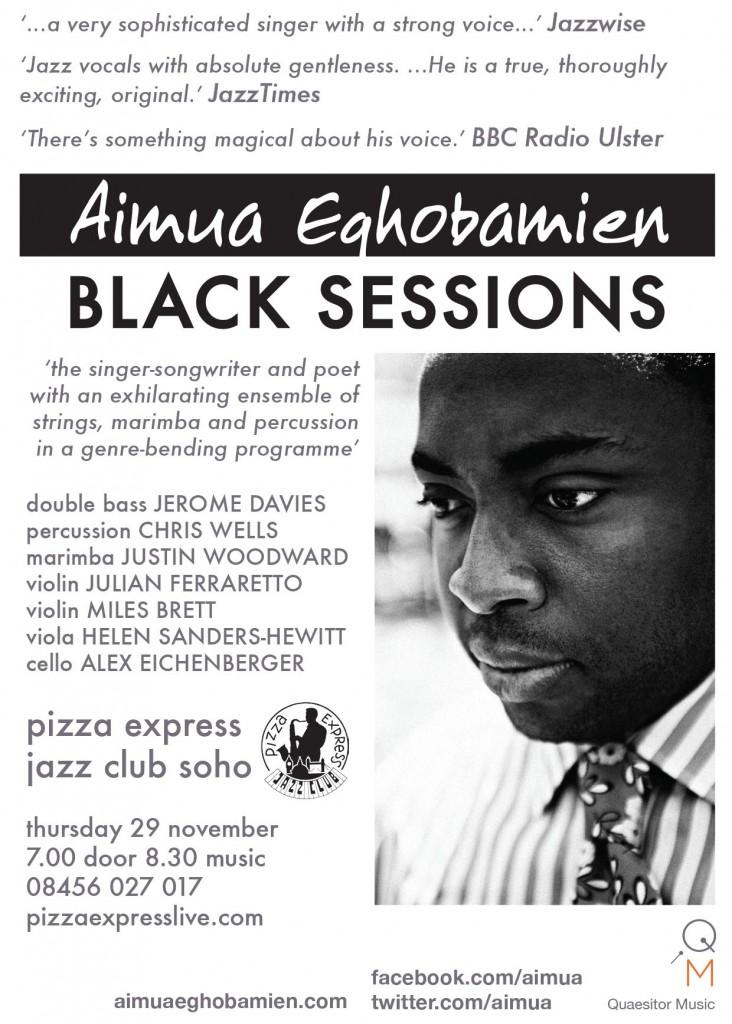 Black Sessions Pizza Express Soho