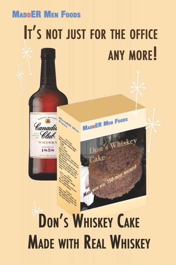 Dons Whiskey Cake
