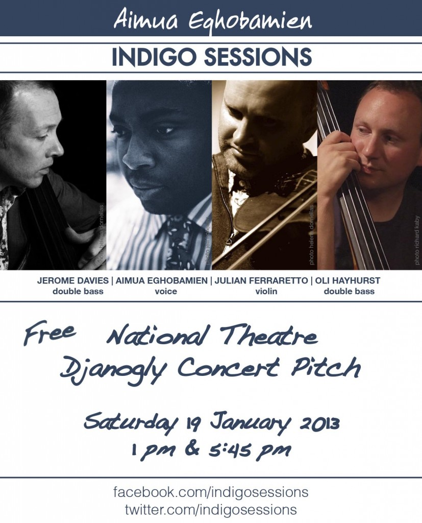 Indigo Sessions National Theatre