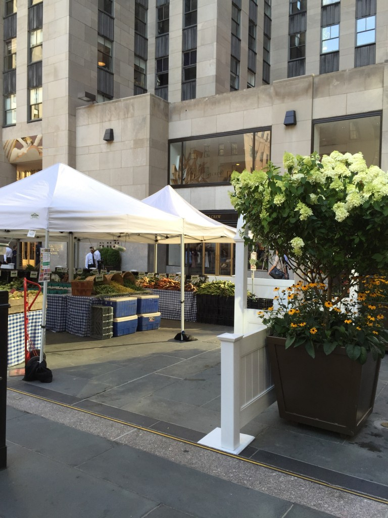 Rockefeller Center Farmers Market
