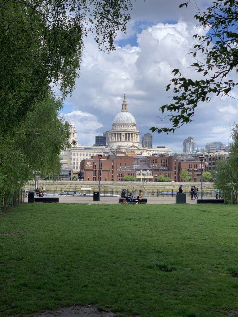 View of St. Paul's Cathedral from South Bank